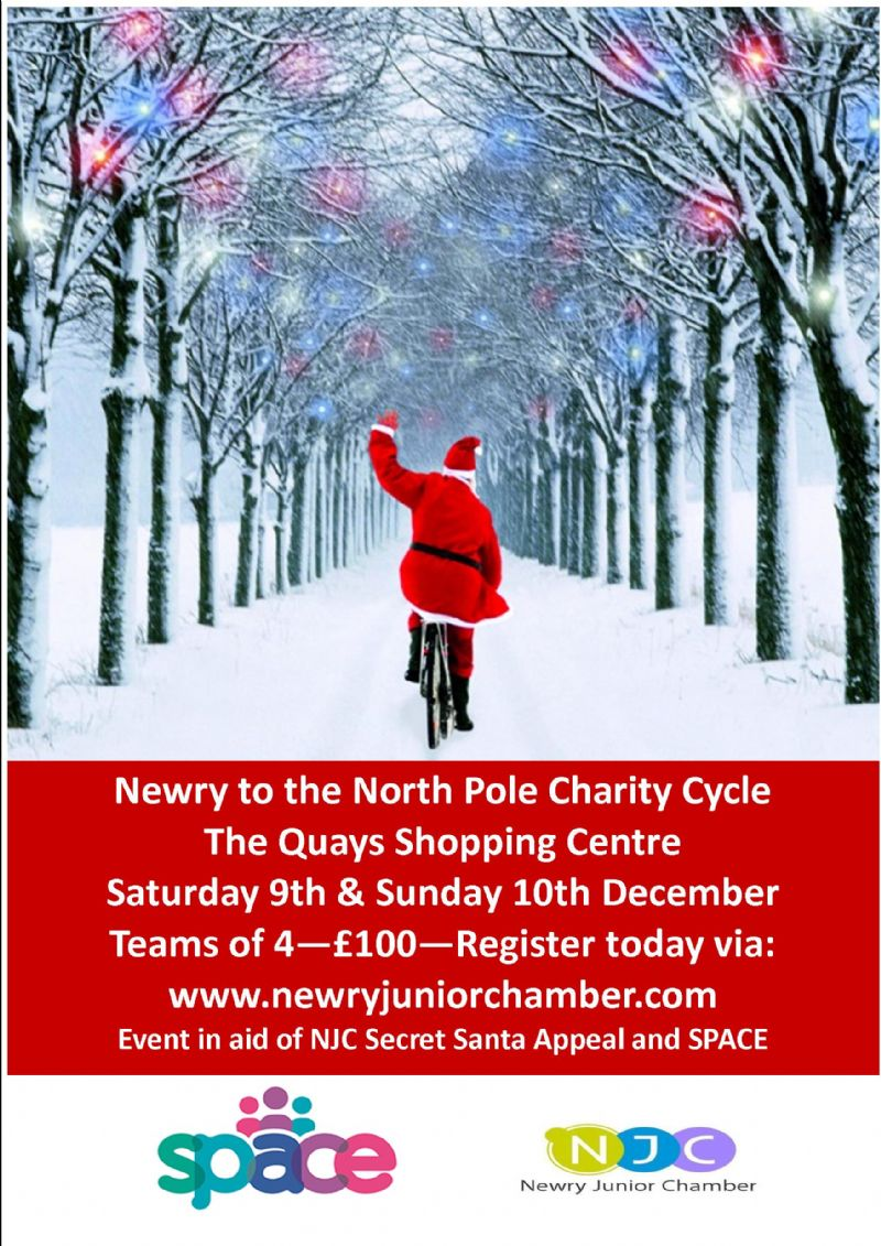 NJC to Trade Sweat for Smiles in North Pole Cycling Challenge